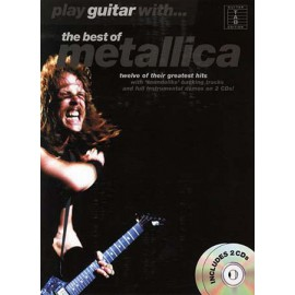 METALLICA PLAY GUITAR WITH BEST OF TAB (PACK PARTITION+CD)