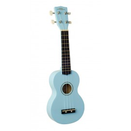 UKULELE WIKI UK10 SOPRANO BLEU CIEL GLOSS UK10G BBL