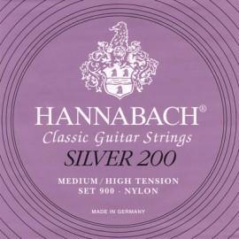 HANNABACH SILVER 200 MEDIUM/HIGH 1 MI 9001MHT