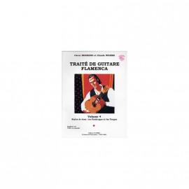WORMS TRAITE DE GUITARE FLAMENCA 4 C6144 (PACK PARTITION+CD)