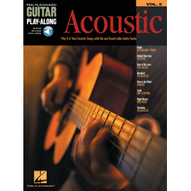 GUITAR PLAY ALONG VOLUME 2 ACOUSTIC HL699569 (PACK PARTITION+CD)