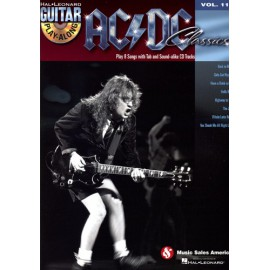 ACDC GUITAR PLAY ALONG VOL 119 (PACK PARTITION+CD)