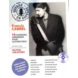 CABREL VOYAGE EN GUITARE (PACK PARTITION+CD)