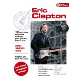 CLAPTON VOYAGE EN GUITARE PCSONG88 (PACK PARTITION+CD)