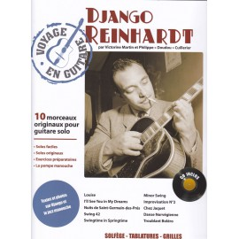 REINHARDT VOYAGE EN GUITARE PCSONG85 (PACK PARTITION+CD)