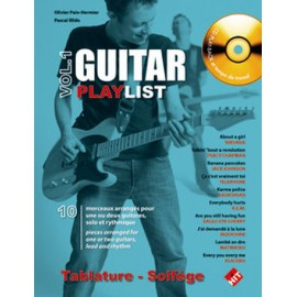 PAIN HERMIER GUITAR PLAY LIST 1 (PACK PARTITION+CD)