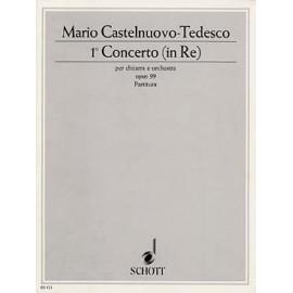 CASTELNUOVO TEDESCO CONCERTO RE MAJ ED153
