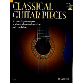 CLASSICAL GUITAR PIECES 50 EASY TO PLAY ED9710