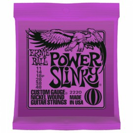 ERNIE BALL POWER SLINKY CUSTOM 11/48 JEU EP2220