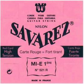 SAVAREZ CARTE ROUGE CORDE 1 MI 521R