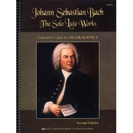 BACH SUITE LUTH KOONCE WG100