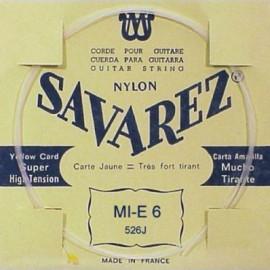 SAVAREZ CARTE JAUNE CORDE 6 MI 526J