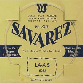 SAVAREZ CARTE JAUNE CORDE 5 LA 525J