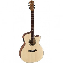 GUITARE ELECTRO ACOUSTIQUE BATON ROUGE PAN COUPE NATUREL