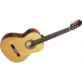 GUITARE CLASSIQUE 3/4 SANTOS Y MAJOR  ESTUDIO 9B NATURELLE