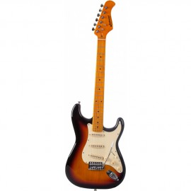 GUITARE ELECTRIQUE JM FOREST SUNBURST  ST70MASUNB
