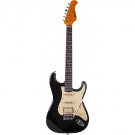 GUITARE ELECTRIQUE JM FOREST BLACK ST73RABLACK