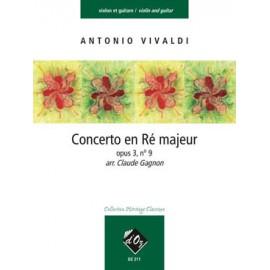 VIVALDI CONCERTO EN RE MAJEUR OP.3 N°9 DZ211