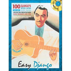 REINHARDT EASY DJANGO VOLUME 3 + CD