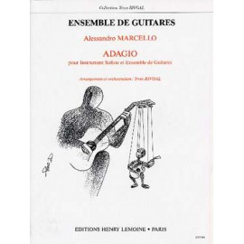 MARCELLO ADAGIO ENSEMBLE DE GUITARES HL25255