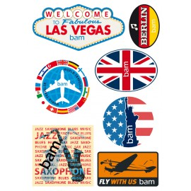 STICKERS BAM COLLECTION VINTAGE