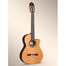 GUITARE ALHAMBRA 5P CTW E2 THIN BODY CEDRE