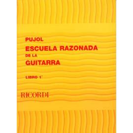 PUJOL ESCUELA RAZONADA DE LA GUITARRA 1  BA9587