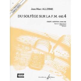 ALLERME FM 440.4 CHANT ANALYSE ELEVE GB5284
