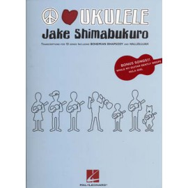 SHIMABUKURO JAKE PEACE LOVE UKULELE