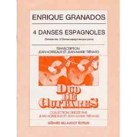 GRANADOS 4 DANSES ESPAGNOLES GB4410