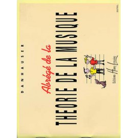 DANHAUSER ABREGE DE LA THEORIE DE LA MUSIQUE HL22227