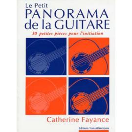 FAYANCE LE PETIT PANORAMA DE LA GUITARE ET1888