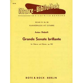DIABELLI GRANDE SONATE BRILLANTE OP.102 BB4000679