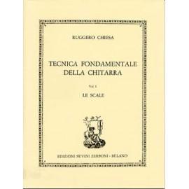 CHIESA TECNICA FONDAMENTALE DELLA CHITARRA VOL1
