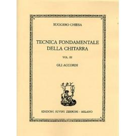 CHIESA TECNICA FONDAMENTALE DELLA CHITARRA VOL3
