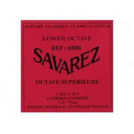 SAVAREZ OCTAVE INFERIEURE 75CM JEU 6CB640R
