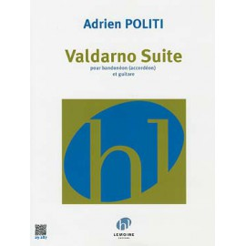 POLITI VALDARNO SUITE BANDONÉON (OU ACCORDEON) GUITARE 29287
