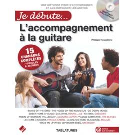 HEUVELINNE JE DEBUTE L'ACCOMPAGNEMENT A LA GUITARE + CD