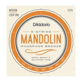 D'ADDARIO MANDOLINE PHOSPHOR BRONZE 11/40 EJ74