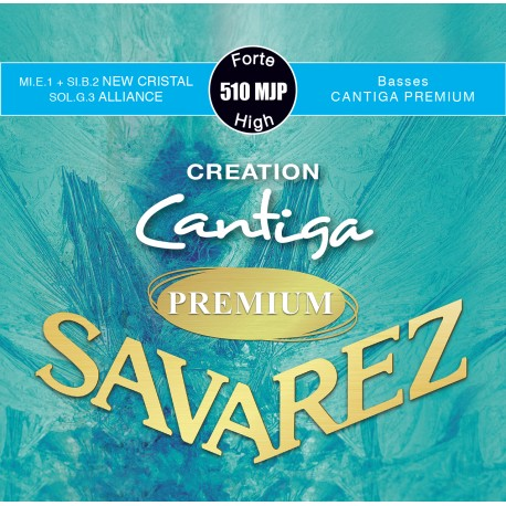 SAVAREZ CANTIGA PREMIUM CREATION TENSION FORTE JEU 510MJP