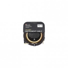 CABLE BLACK SMITH GOLD SERIE JACK/JACK COUDE 3M ICG-001SR