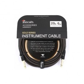 CABLE BLACK SMITH GOLD SERIE JACK/JACK 6M ICG-002SS