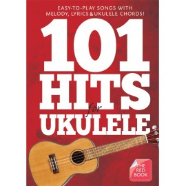 101 HITS FOR ULKULELE RED BOOK AM1008062