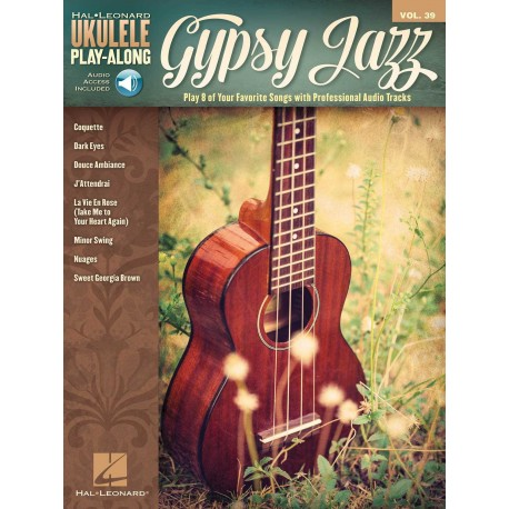 UKULELE PLAY-ALONG GYPSY JAZZ VOL39