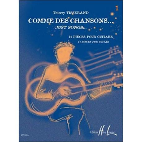 TISSERAND COMME DES CHANSONS 1 (PACK PARTITION+CD) HL27710