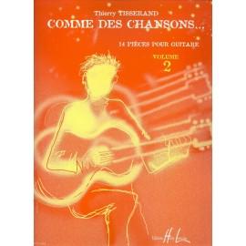 TISSERAND COMME DES CHANSONS 2 (PACK PARTITION+CD) HL27711