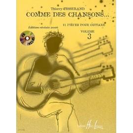 TISSERAND COMME DES CHANSONS 3 (PACK PARTITION+CD) HL27712
