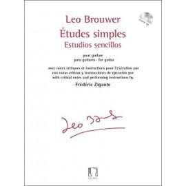 BROUWER ETUDES SIMPLES 3EME SERIE 11 A 15 ZIGANTE