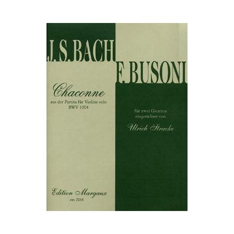 BACH / BUSONI CHACONNE BWV 1004  EM2058