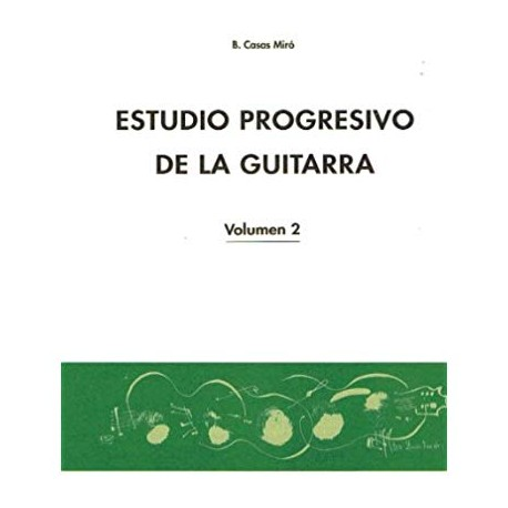 MIRO ESTUDIO PROGRESIVO DE LA GUITARRA VOL2